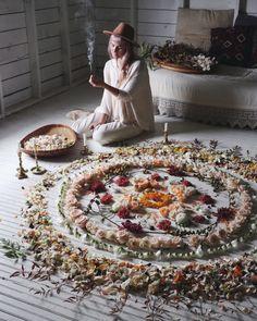 Magick Flower Mandalas