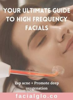 FacialGlo.Co High Frequency Tesla Facial - The High Frequency Facial is one of our favorite luxe skincare routines. High frequency is an amazing, non-invasive method to treat and prevent stubborn acne, shrink enlarged pores, reduce the appearance of fine lines and wrinkles, decongest puffy eyes, fade dark eye circles, and rejuvenate the condition of the scalp and nourish hair follicles for healthier hair growth. Clear Skin Routine, High Frequency Facial, Clear Skin Diet, Reduce Pore Size, Healthier Hair, Hair Follicles, Eye Circles, Hormonal Acne, Sagging Skin