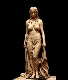 Beauty Secrets Bathsheba by Benjamin Victor. At age he became the youngest artist to have a work in the National Statuary Hall. Wood Carving Art, Art Sculpture, Bronze Sculpture, Wow Art, Zbrush, Figure Drawing, Les Oeuvres, Amazing Art, Sculpting