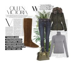 """""""Outfit # 3005"""" by miriam83 ❤ liked on Polyvore featuring Balenciaga, Isabel Marant, Moncler, rag & bone, Repeat Cashmere, Miu Miu, Victoria Beckham, Nearly Natural and Ethan Allen"""