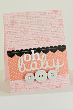 oh baby card by erin