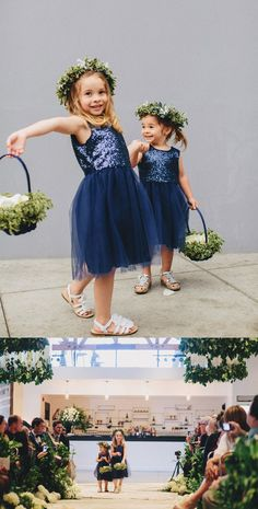Stunning Mother of the Bride Dresses Navy Bridesmaid Dresses, Blue Wedding Dresses, Bride Dresses, Wedding Navy, Summer Wedding, Bridesmaids, Girls Fall Dresses, Cute Flower Girl Dresses, Flower Girls