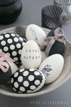 Feestdagen   Paas decoratie inspiratie in zwart wit – Stijlvol Styling - WoonblogStijlvol Styling – Woonblog
