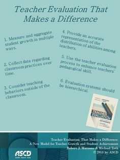 Teacher Evaluation—Robert J. Marzano and Michael D. Toth weigh in with their new book Teacher Evaluation That Makes a Difference
