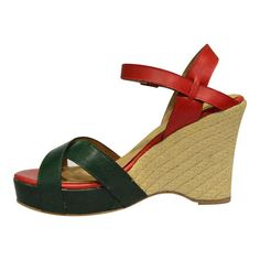 af8642de070 ALICIA Summer Solstice - Jute Sack Covered Wedge Heel Sandals