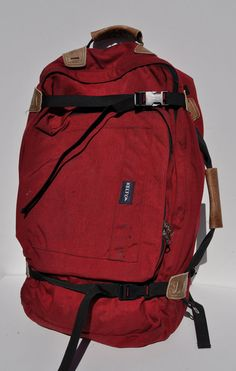 vintage backpack convertible KELTY BACKPACK back pack hiking mountaineering outdoor camping. $125.00, via Etsy.
