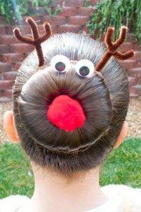 Cute Christmas Hair | TheWHOot