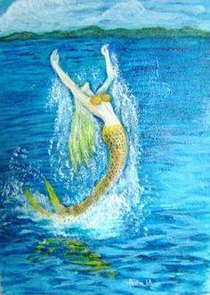 Goddess of the Sea Amphitrite