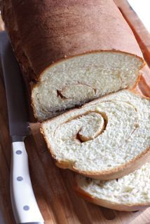 Cinnamon Bread - very good bread.  I used more of the cinnamon/sugar/butter filling.  YUMMY