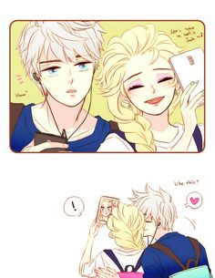 I don't ship them but this was cute. Pretend its Rapunzel instead of Elsa.