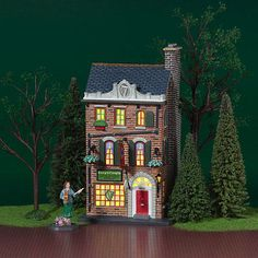 """DEPT56 CHRISTMAS IN THE CITY """"KELLY'S IRISH CRAFTS"""""""