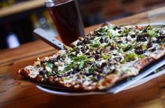 9 Baltimore Restaurants You Need to Visit from Diners Drive-Ins and Dives Grilled Eggplant, Grilled Zucchini, Baltimore Restaurants, Square Pizza, I Love Pizza, Pizza Delivery, Fresh Mozzarella, Food Menu, Places To Eat