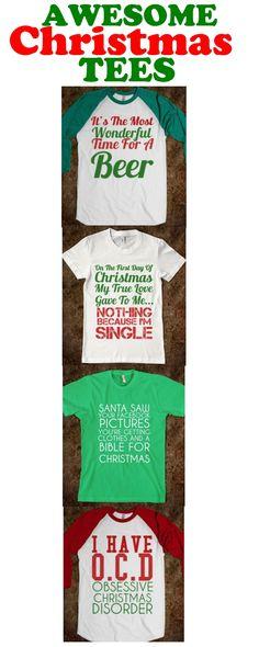 AWESOME CHRISTMAS TEES