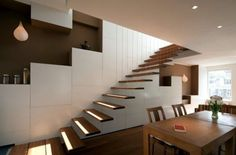 32 Floating staircase ideas for contemporary home | Interior ...