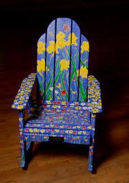 Image result for hand painted chairs