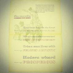 タイプファンダリーアムステルダム社の金属活字書体見本 #Normandia Outline #Normandia Black アウトラインの #書体 には根強い人気があります