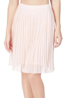 Pleated Skirt by JustFab flows and moves with you. l JustFab