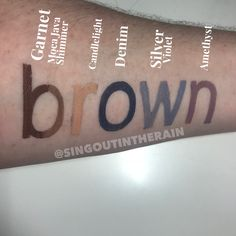 Are you a brown eyed girl? These 6 ShadowSense (by SeneGence) colors will make your eyes POP! Natural Eyeshadow Looks, Brown Eyeshadow, Senegence Makeup, Senegence Products, Cosplay Makeup, Costume Makeup, Shadow Sense, Eye Base, All Things Beauty