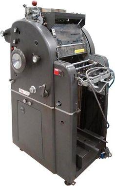 Printing history - AB Dick 350 duplicator