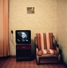 OLIVIER CULMANN - TV series on the set of room 508 at the Valdemars Hotel Riga, Latvia, 2003