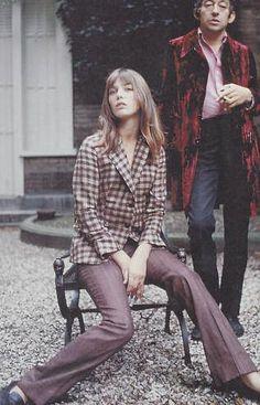 Jane Birkin & Serge Gainsbourg, 1970. Veja também: http://semioticas1.blogspot.com.br/2011/07/fala-da-moda.html