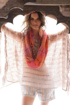 light and sheer scarf