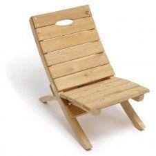 Jim Ryan Portable Cedar Wood Chair 500Lb Weight Capacity