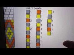 Háčkovaná korálková dutinka - jak se vyznat ve schématech - YouTube