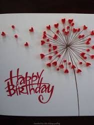 Image result for ideas of making quilling cards