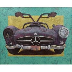 Mykola BilArt Multimedia Arts, Old Love, Large Painting, Art For Sale, Mercedes Benz, Charity, Art Projects, In This Moment, Canvas