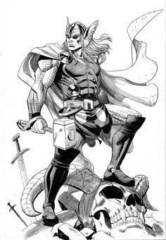 Thor by ReillyBrown on deviantART