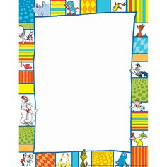 Eureka Dr Seuss Shapes Computer Paper Best Picture For dr seuss week prek For Your Taste You are looking for something, and it is going to tell you exactly what you are looking for, and you Dr. Seuss, Dr Seuss Week, Computer Theme, Computer Paper, Der Computer, Dr Seuss Printables, Free Printables, Eureka School, Printable Border