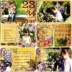 Pocket Page Scrapbooking by Solange Marques using the Everyday Vintage Kits! #iod #everydayvintage