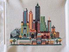 Atlanta In Cross Stitch : Atlanta