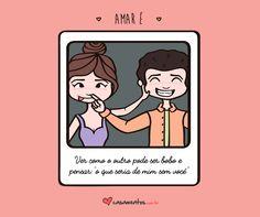 Frases de amor do casamentos.com.br nossa. Com uma imagem Vc muda meu final de semana. Me anima. Mto linda!