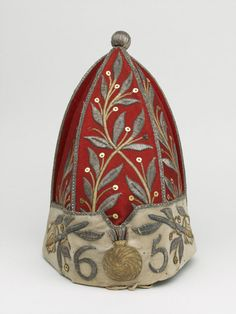 Officer's grenadier cap, associated with 65th Regiment of Foot, 1758 (c)
