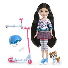 Куклы :: Куклы Мокси :: (528906) Игрушка кукла Moxie Весёлое катание, Лекса (самокат)