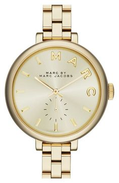 MARC JACOBS 'Sally' Round Bracelet Watch, 36mm available at #Nordstrom