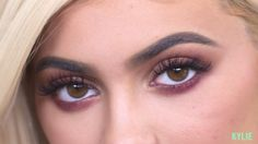 """Steal Kylie Jenner's Exact """"Burgundy"""" Palette Makeup Routine With This 8-Step Tutorial"""
