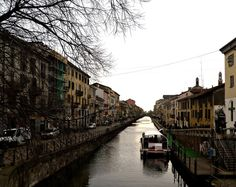 The Naviglio where Kat and Edward live just a short walk from each other.