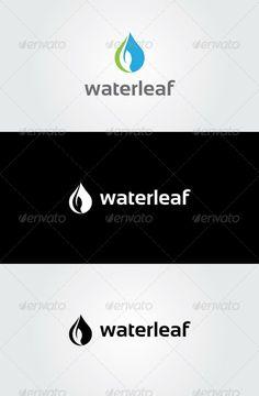 Water Leaf Logo