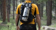 ManCan Portable Kegerator - Outdoor Gear. Courtesy/ManCan. Check Out The Article: https://mrvthebuzz.mobilerving.com/open-road-lifestyle/products-gadgets/keeping-the-journey-cold-man-can #technology #outdoor #beer #kegerator #gear