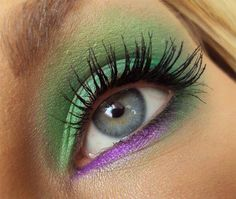 I Never Tire of Green  Purple ❤'d by http://makeupartistrycairns.com.au/