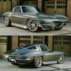 '63 split window Corvette packing a LS3 and pushing 500hp