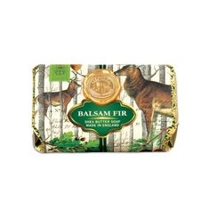 Michel Design Works - Balsam Fir Large Bath Soap Bar  #Christmas #soap