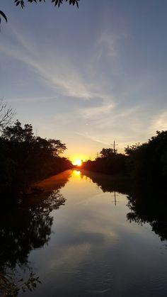 Sunrise fishing - can't beat it!