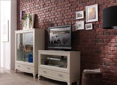Old British Brick- Aged - Decorative Wall Covering- 1m²/panel