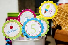 EAT DRINK PRETTY: Real party: an ice cream social birthday party