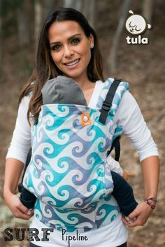 Tula Surf Pipeline TULA BABY CARRIER for when Emma is a toddler :)