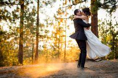 Lake Tahoe Wedding with Tahoe Mountain Resorts Lodging #mountainwedding #laketahoewedding